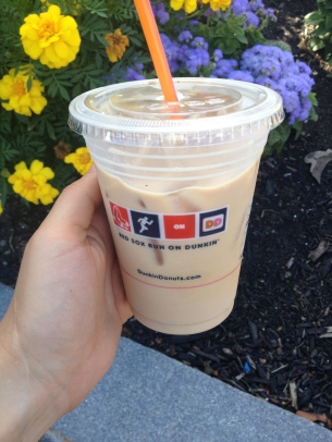 Iced Coffee, with milk